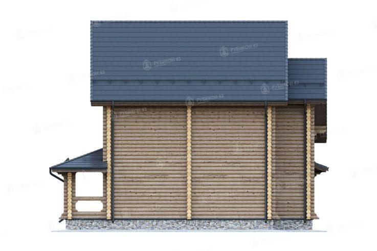 Проект дома из бревна ДК-140