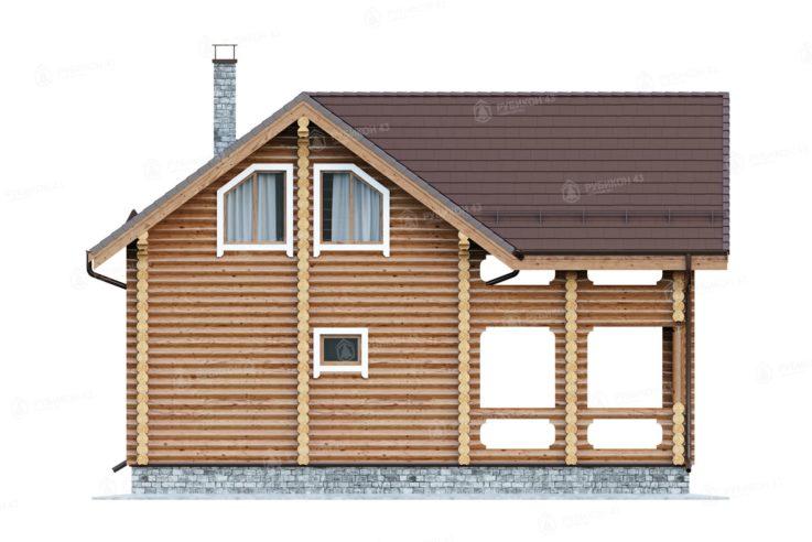 Проект дома из бревна ДК-150