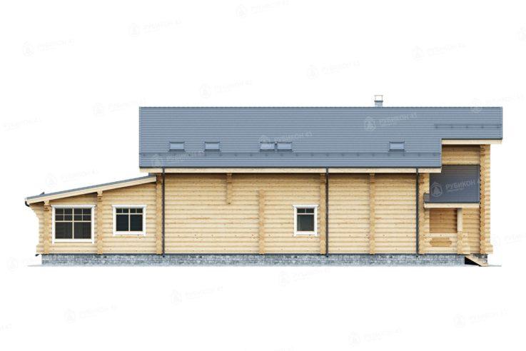 Проект дома из бревна ДК-480