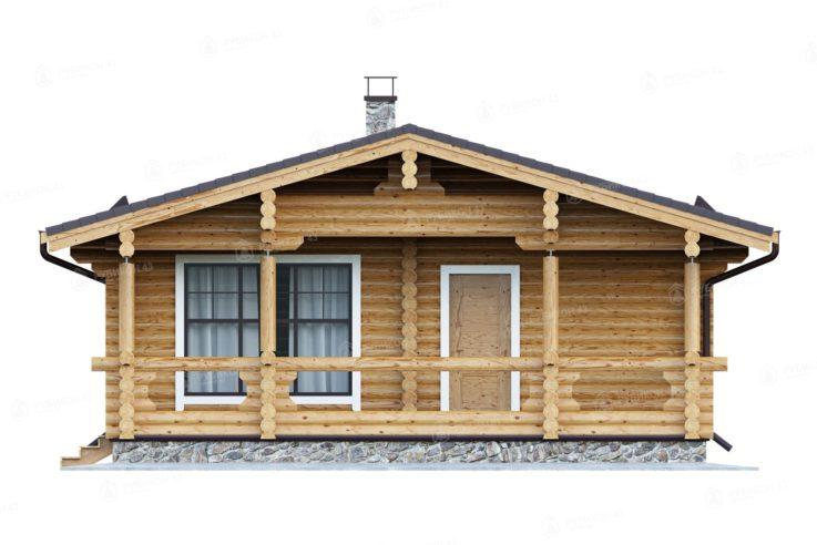 Проект дома из бревна ДК-69