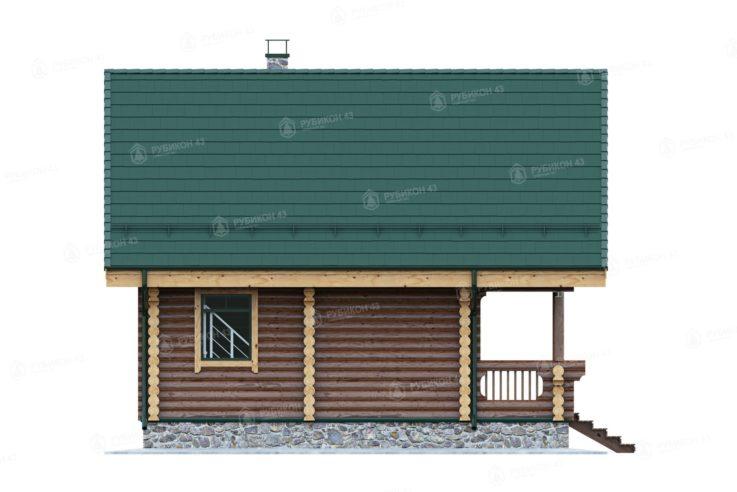 Проект дома из бревна ДК-82