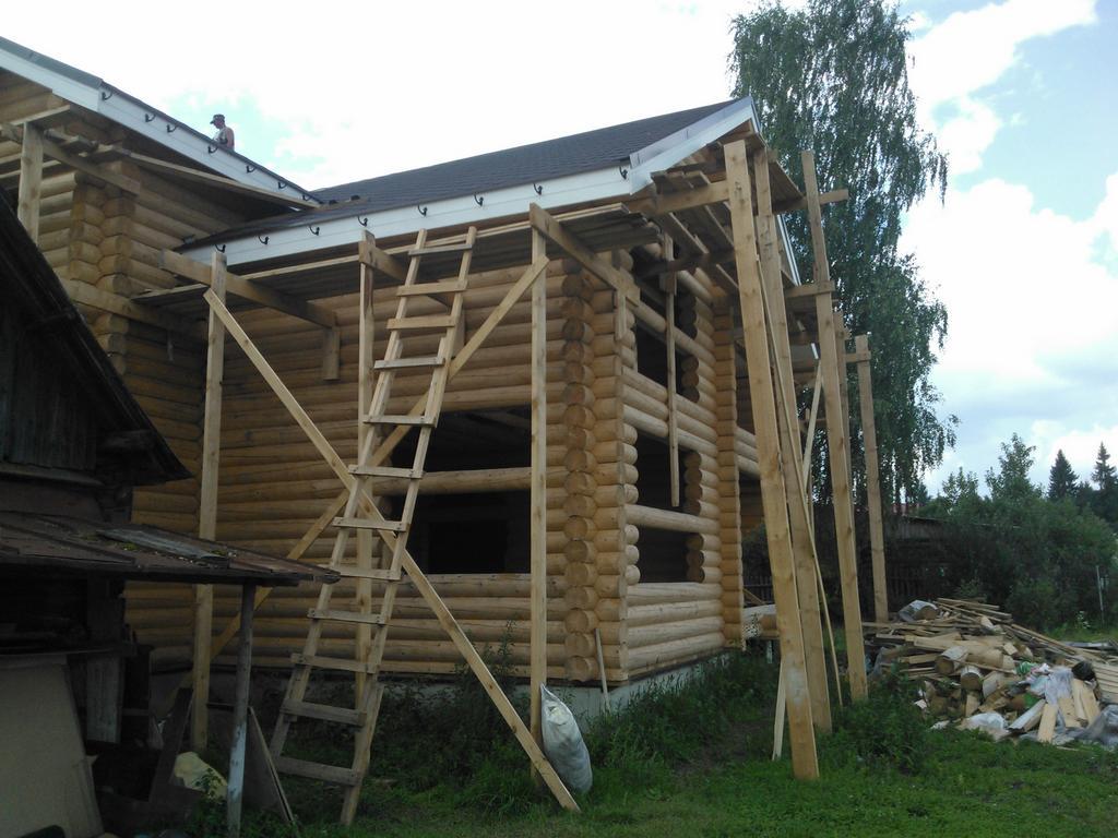 Загородный дом из ОЦБ 26 см