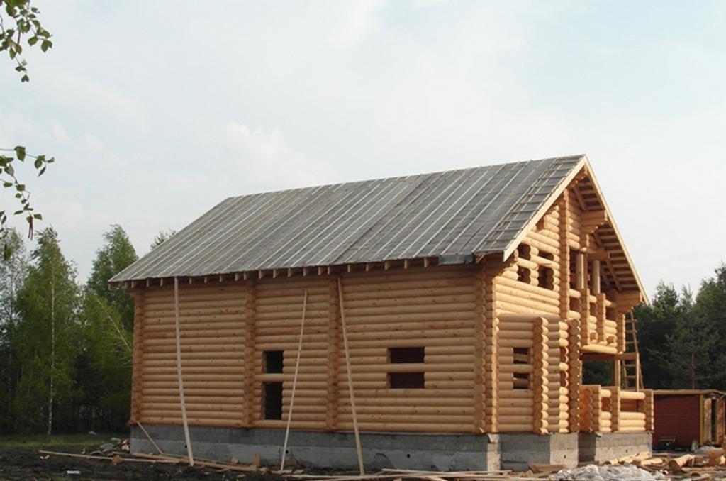 Строительство дома из оцб