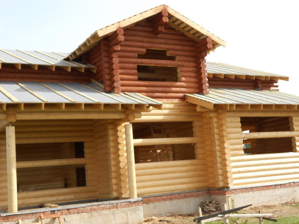 Строительство дома из ОЦБ 26 см